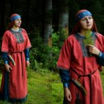 Vesna Crafts Linen slavic dress