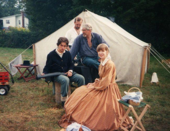 Civil War Reenactment - Sarah Lynn 1863