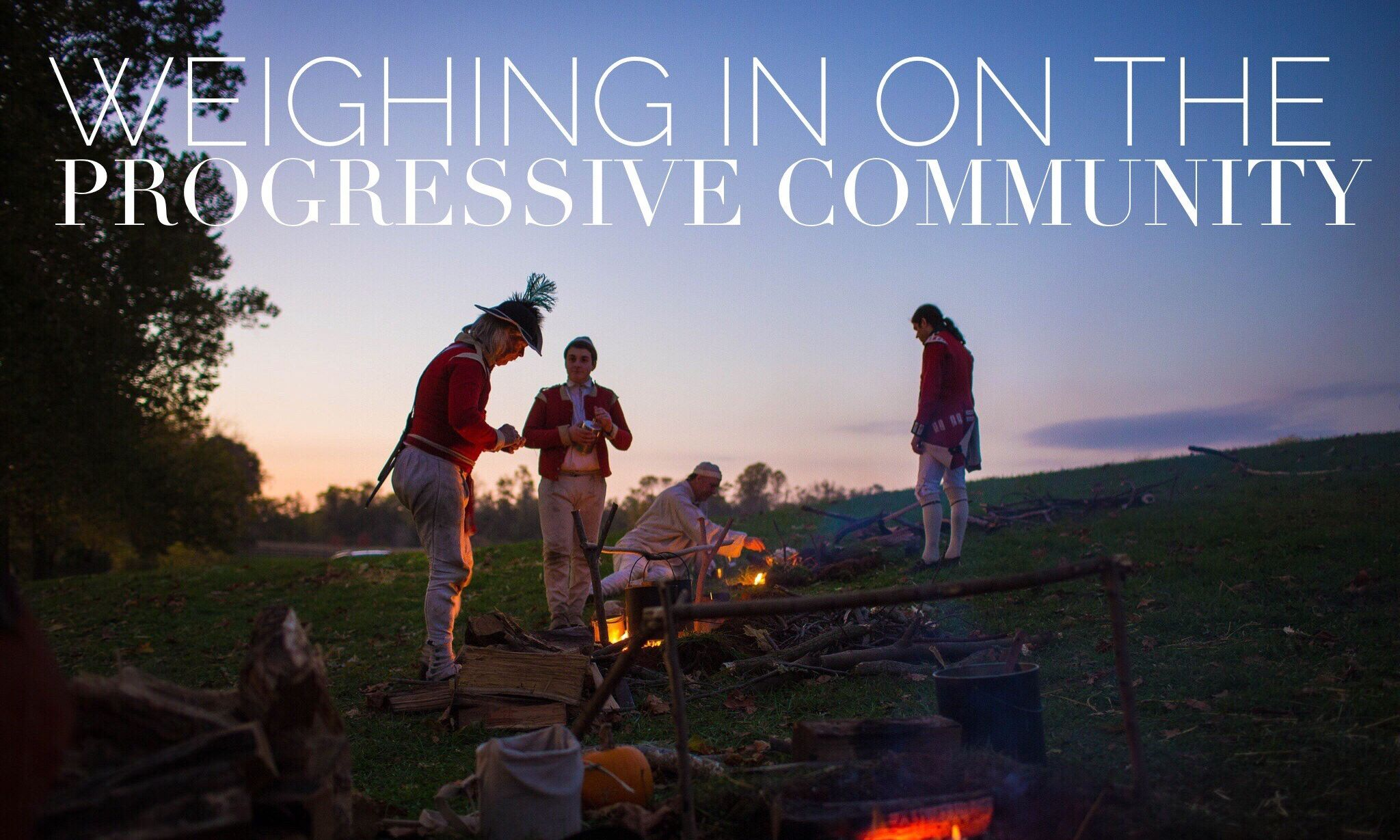 Progressive community - Historically Speaking