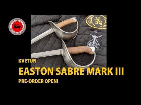 Kvetun Armoury Easton Sabre Mark III - Schola Gladiatoria