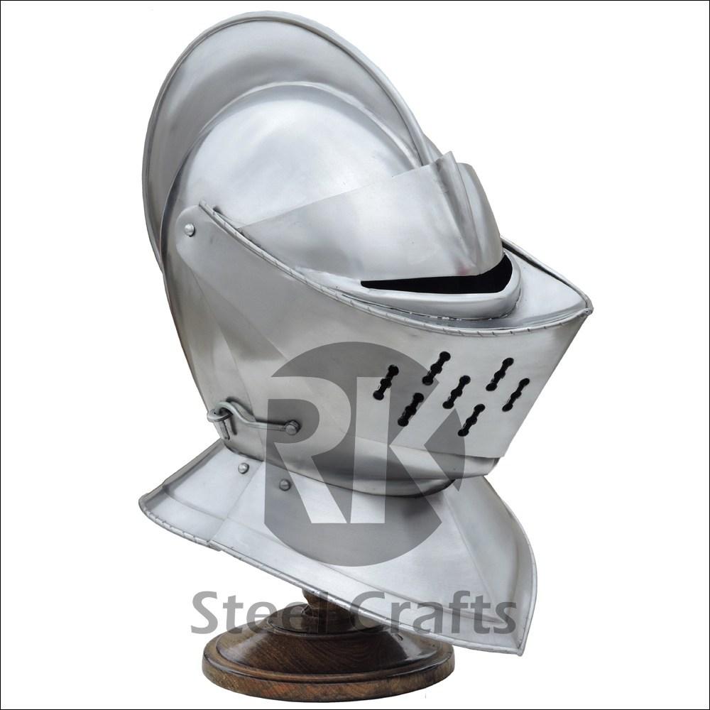 Armet helmet - R. k. Steel Craft
