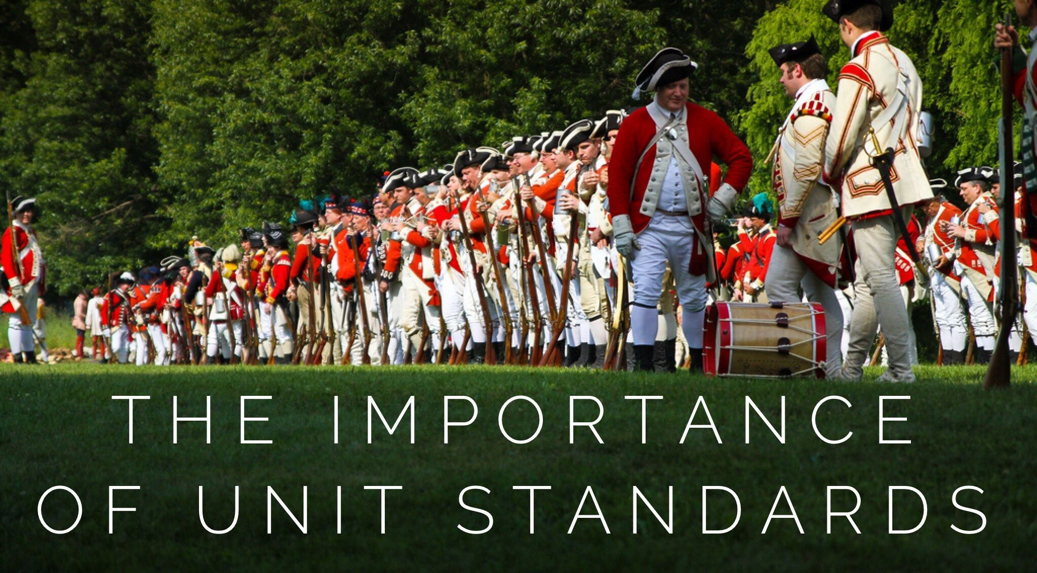The importance of unit standards - Historically Speaking