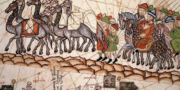 The Silk Road crossed by Marco Polo