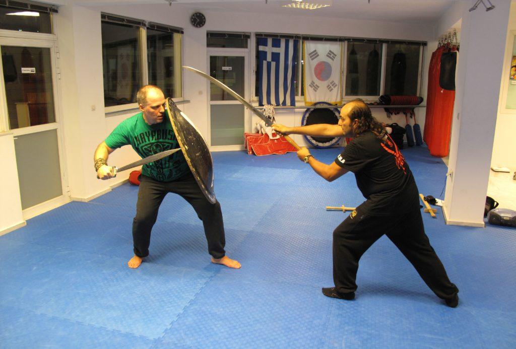 Falx training - Academia Leontes